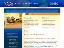 Firm Logo for Sams, Larkin & Huff, LLP