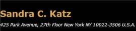 Firm Logo for Sandra C. Katz