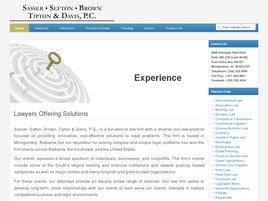 Sasser, Sefton & <br />Brown, P.C. Law Firm Logo