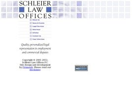 Schleier Law Offices Law Firm Logo