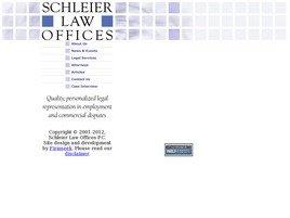 Firm Logo for Schleier Law Offices