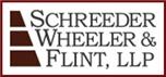 Schreeder, Wheeler & Flint, LLP Law Firm Logo