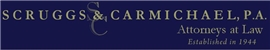 Scruggs & Carmichael, P.A. Law Firm Logo