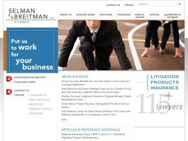 Firm Logo for Selman Breitman LLP