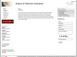 Firm Logo for Shainis Peltzman Chartered