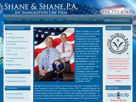 Firm Logo for Shane Shane P.A.