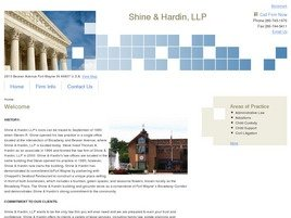 Shine & Hardin, LLP Law Firm Logo
