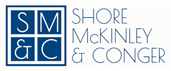Firm Logo for Shore McKinley Conger LLP