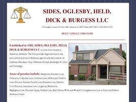 Firm Logo for Sides Oglesby Held Dick Stephens Clay LLC
