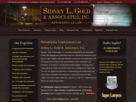 Firm Logo for Sidney L. Gold Associates P.C.