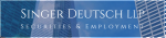 Firm Logo for Singer Deutsch LLP