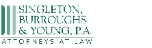 Singleton, Burroughs & Young, P.A. Law Firm Logo