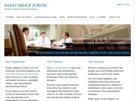 Firm Logo for Smiley Bishop Porter LLP