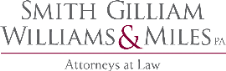 Firm Logo for Smith, Gilliam, Williams & Miles, P.A.