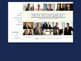 Smith Hulsey & Busey Law Firm Logo
