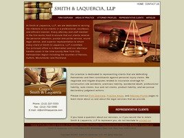 Laquercia & Klein, L.L.P. Law Firm Logo