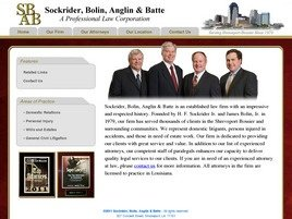 Firm Logo for Sockrider, Bolin, Anglin & Batte <br />A Professional Law Corporation