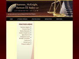 Firm Logo for Stammer McKnight Barnum Bailey LLP