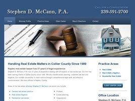 Firm Logo for Stephen D. McCann, P.A.