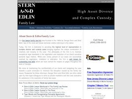 Firm Logo for Stern and Edlin, PC