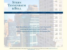 Stern Tannenbaum & Bell LLP Law Firm Logo
