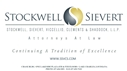 Stockwell, Sievert, Viccellio, Clements & Shaddock, L.L.P. Law Firm Logo