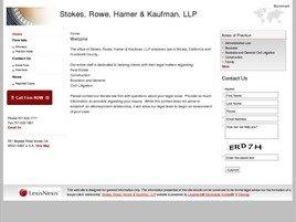 Firm Logo for Stokes Hamer Kaufman Kirk LLP