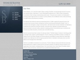 Firm Logo for Stone Baxter LLP