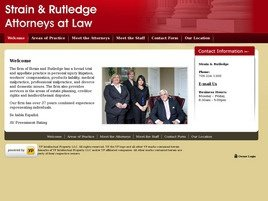 Firm Logo for Strain and Rutledge