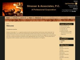 Firm Logo for Strasser Associates P.C. A Professional Corporation