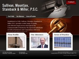 Sullivan, Mountjoy, Stainback <br />& Miller, P.S.C. Law Firm Logo