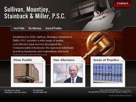 Sullivan, Mountjoy, Stainback <br />& Miller, P.S.C. Law Firm Logo