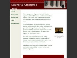 Sulzner & Associates A Professional Corporation