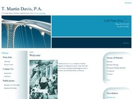 Firm Logo for T. Martin Davis, P.A.