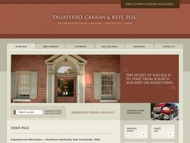 Firm Logo for Taliaferro, Carran & Keys, PLLC