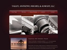 Talley, Anthony, Hughes & Knight, L.L.C. Law Firm Logo