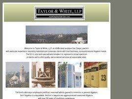 Taylor & White, LLP