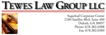 Tewes Law Group LLC Law Firm Logo