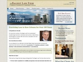 Firm Logo for The Bagert Law Firm