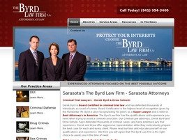 The Byrd Law Firm P.A. Law Firm Logo