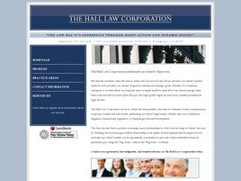 Firm Logo for The Hall Law Corporation