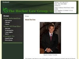 The Hecker Law Group, PLC Law Firm Logo