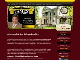 Firm Logo for James Law Firm