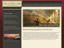 Firm Logo for The Kullman Firm <br />A Professional Law Corporation