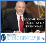 Firm Logo for The Law Firm of <br />John C. Hensley, Jr., PC