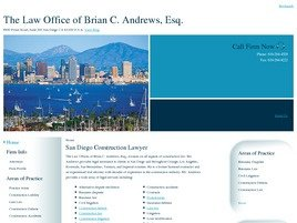 Firm Logo for Law Offices of Brian C. Andrews Esq.