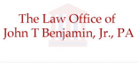 Firm Logo for The Law Office of John T. Benjamin Jr. P.A.