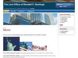 The Law Office of <br />Randell F. Hastings Law Firm Logo