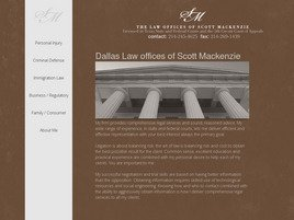 Firm Logo for The Law Offices of Scott MacKenzie