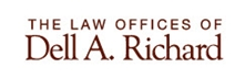 The Law Offices of <br />Dell A. Richard Law Firm Logo